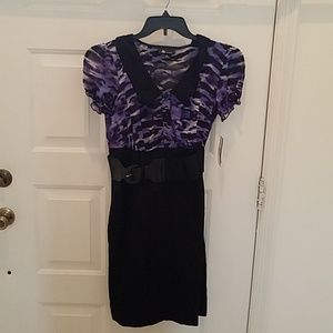 AB Studio Stretch Dress Size 10